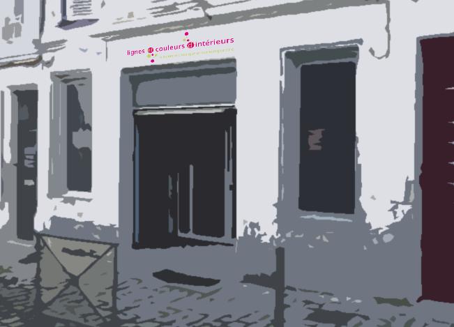 Vu de la façade de Lignes et couleurs d'intérieurs