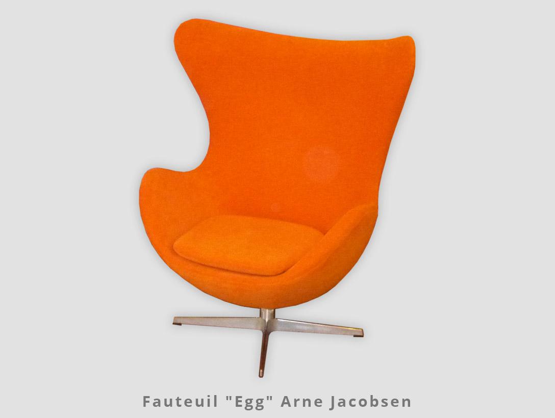 "Fauteuil ""Egg"" Arne Jacobsen"